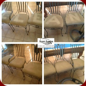 Barstool Upholstery Cleaning